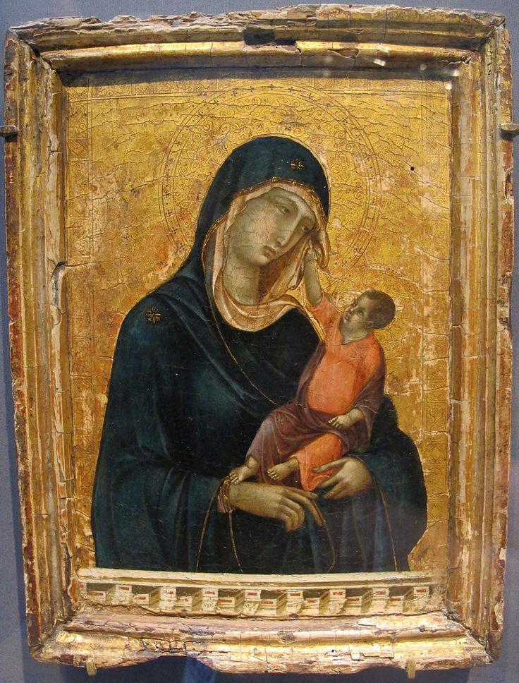 Duccio di buoninsegna, madonna col bambino, 1300 ca. - Duccio - Wikipedia, the free encyclopedia
