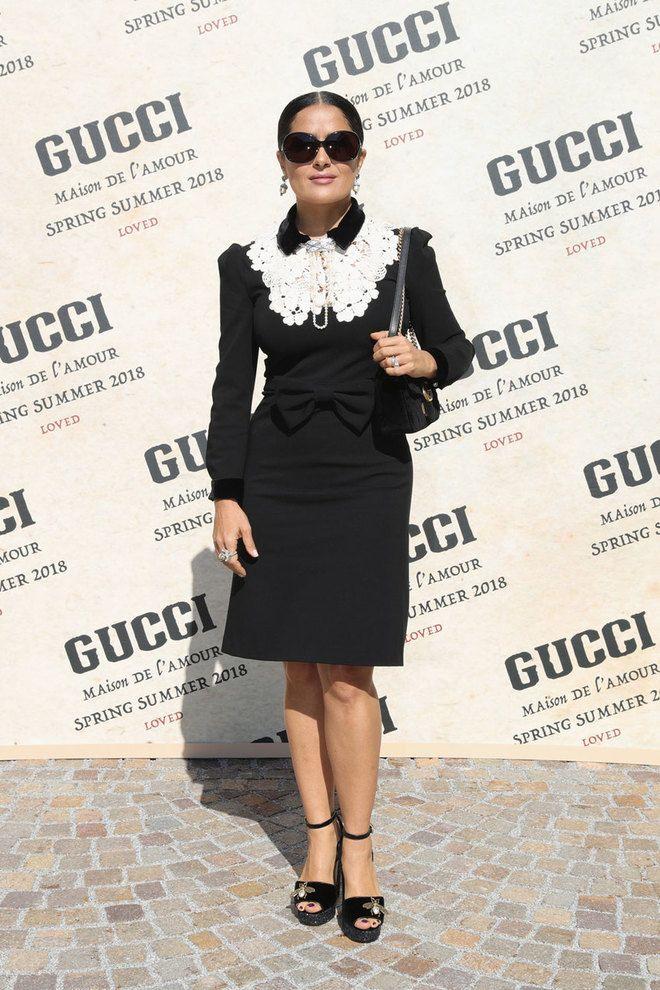 Сальма Хайек, Дакота Джонсон и другие гости показа Gucci: фото | Вечеринки | Tatler – журнал о светской жизни