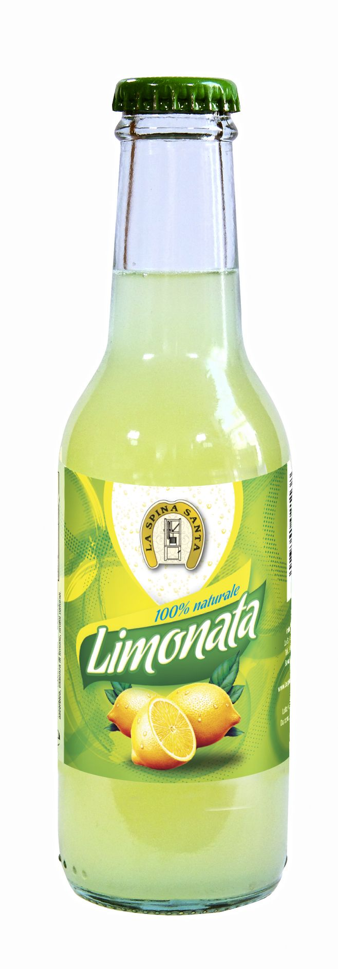 Etichetta Bibita / Limonata La Spina Santa Soft Drink Label / La Spina Santa Lemonade