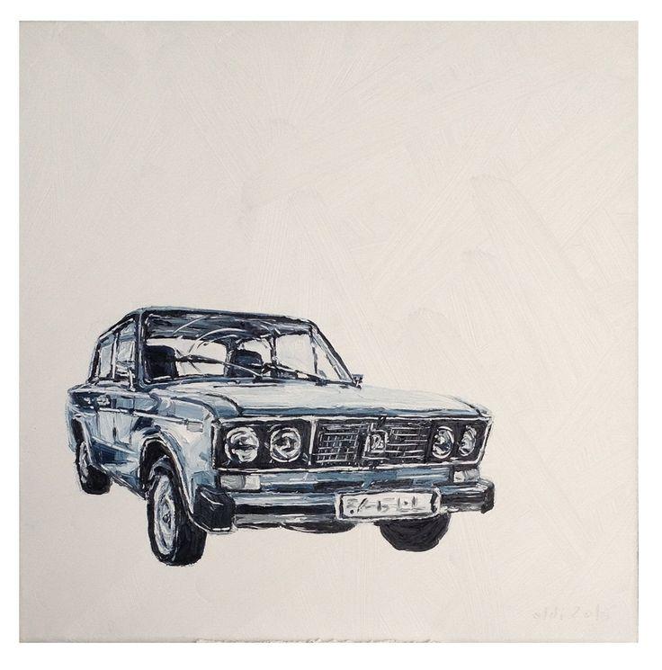 Oldi's Portfolio - 2015 #oldiart #oil #canvas #painting #lada #oldschool