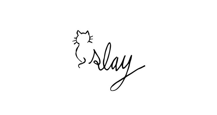 slay wallpaper in words - photo #45