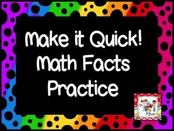 This is an excellent PowerPoint activity that you can use to help your students improve their consistency and speed when completing basic math facts. This Math Facts PowerPoint targets addition and subtraction from 0-5. Click to the first slide. You will have 15 seconds to complete the math problem and say the answer.
