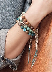 FLORO Shorty - Sterling Silver and Semi Precious Gemstones. Get the one with the tail...
