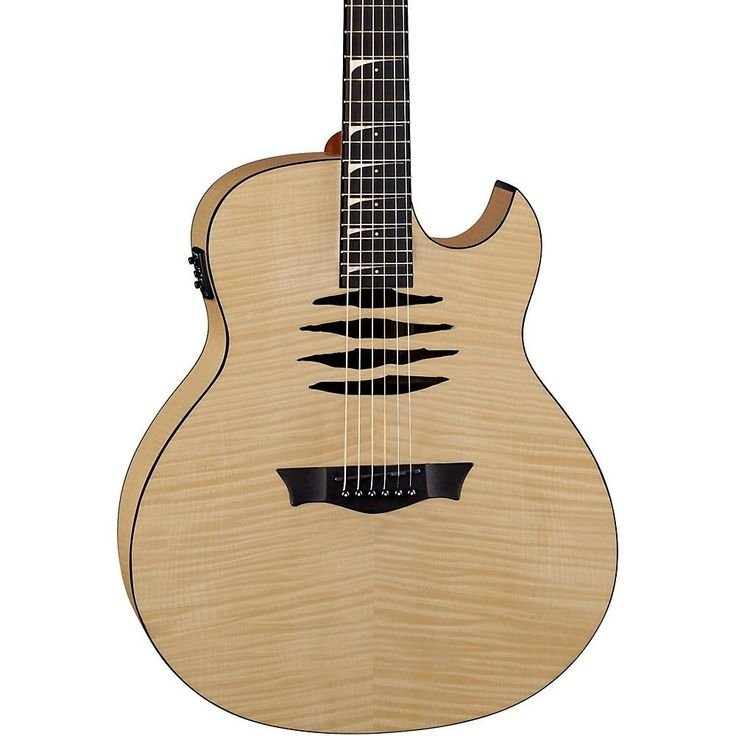 Dean Mako Dave Mustaine Flame Maple Acoustic-Electric Guitar Gloss Natural