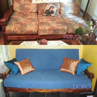 Come rinnovare il vecchio divano spendendo pochissimo | donneinpink magazine