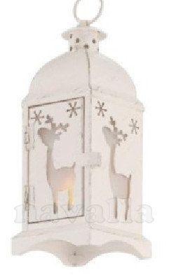 Milá dekorace k Vánocům! LED lampion, který Vás nepopálí, přitom svítí kouzelně :)