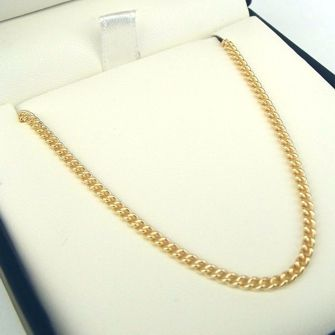 Buy our Australian made 9ct Gold Round Curb Chain - MM-CUR-0011 online. Explore our range of custom made chain jewellery, rings, pendants, earrings and charms.