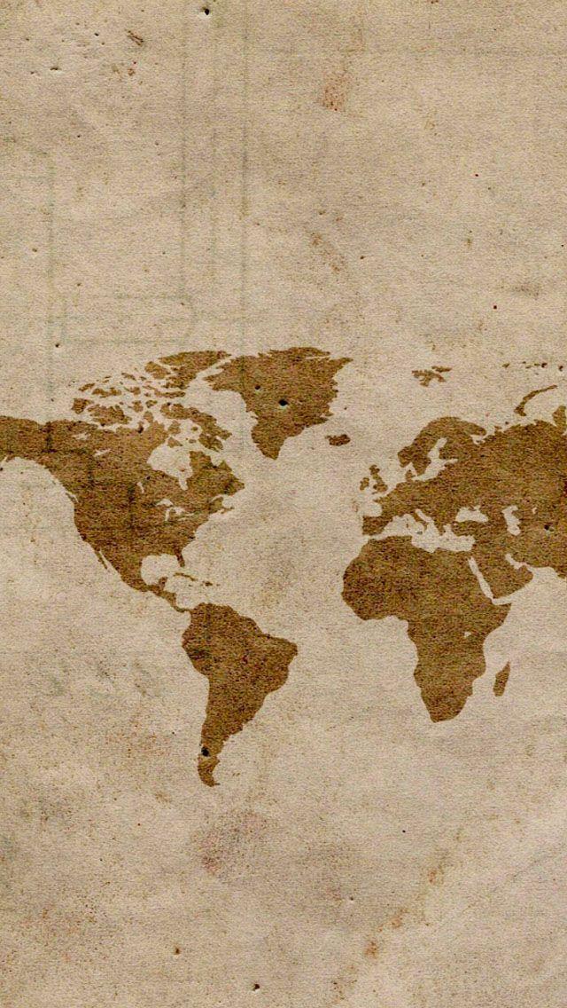 Map Iphone 5s Wallpaper World Map Wallpaper Map Wallpaper World Wallpaper