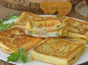 Peynirli Krep Böreği Resmi
