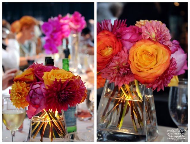 best flowers for an early september wedding | ... just in time for this colourful wedding at the Vancouver Art Gallery