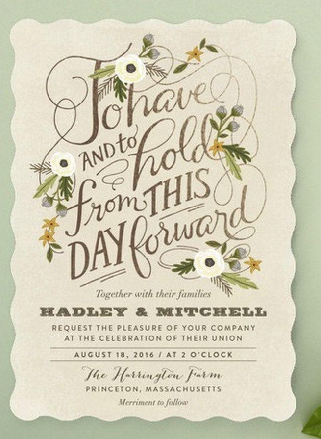 22 Amazing Greenery Botanical Wedding Invitations Bohemian