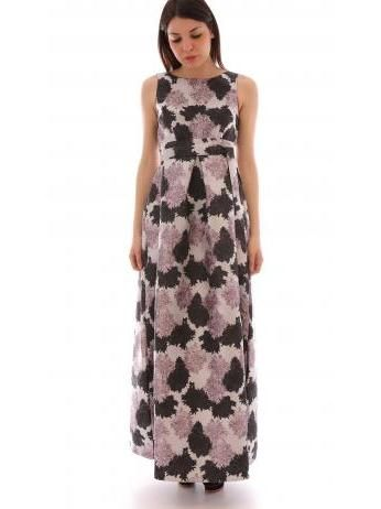 Lanacaprina - Floral pattern A-line prom dress