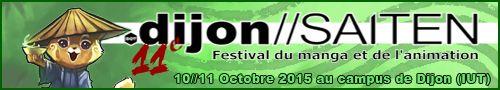 Dijon Saiten - Festival du Manga et de l'animation