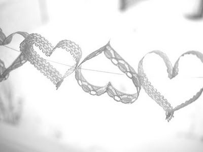 lace hearts