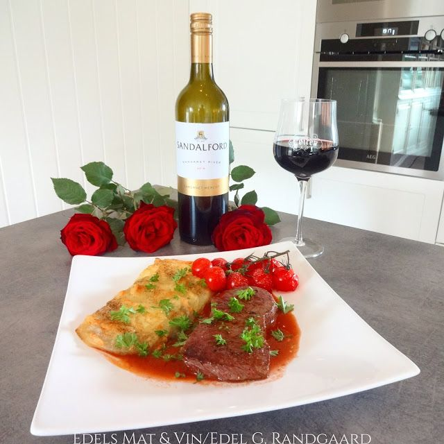 Edels Mat & Vin: Biff med ostepoteter og cognacpeppersaus ♫♪