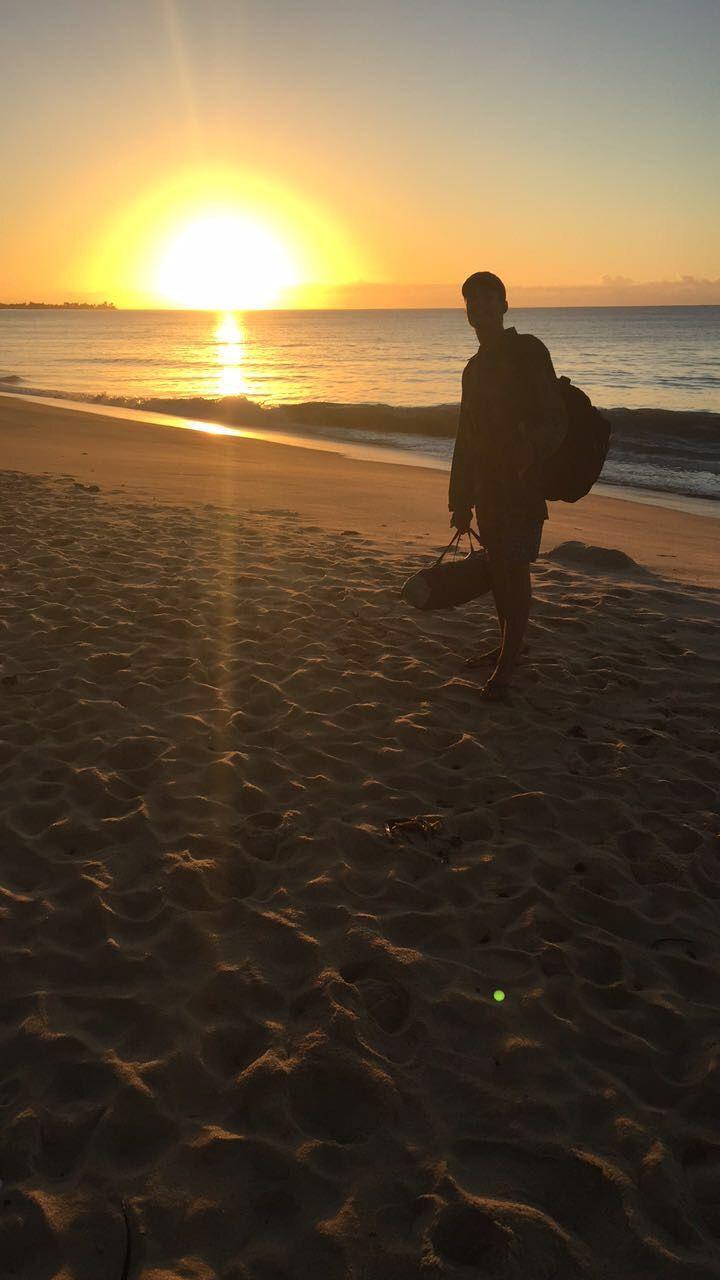 Tumblr Por Do Sol Nascer Do Sol Praia Boy Hallucinated Sunset