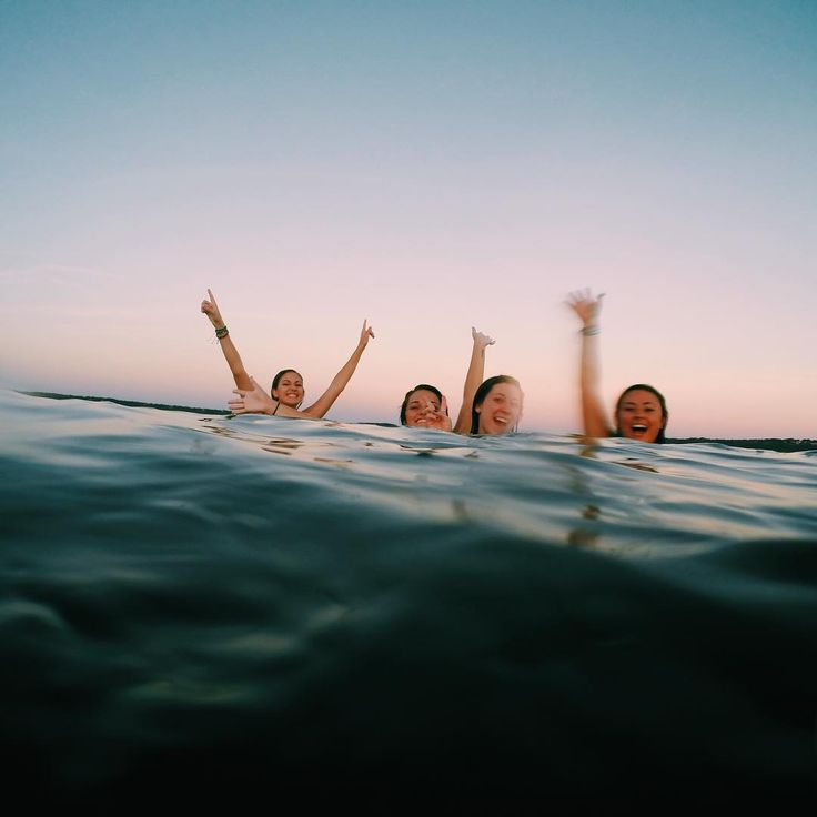 "linds on Instagram: ""i like the lake, but i like these frens more :-)"""
