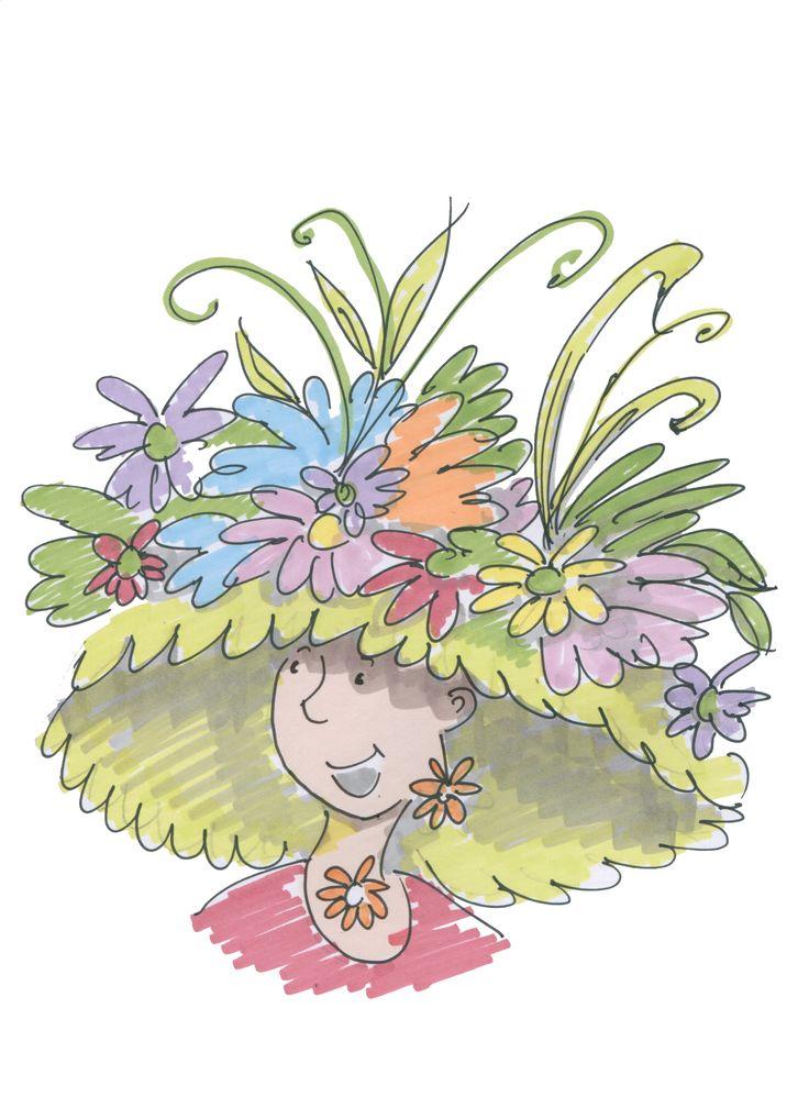'Floral' 52 Week illustration challenge