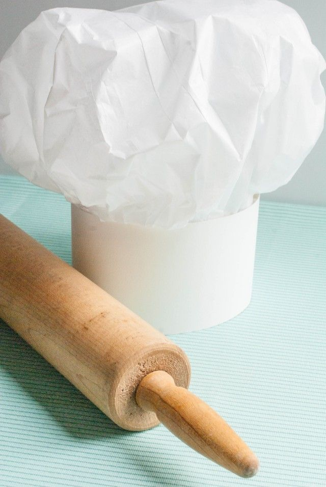 Anders Ruff Custom Designs, LLC: Ruff Draft:  How to make a Tissue Paper Chef Hat