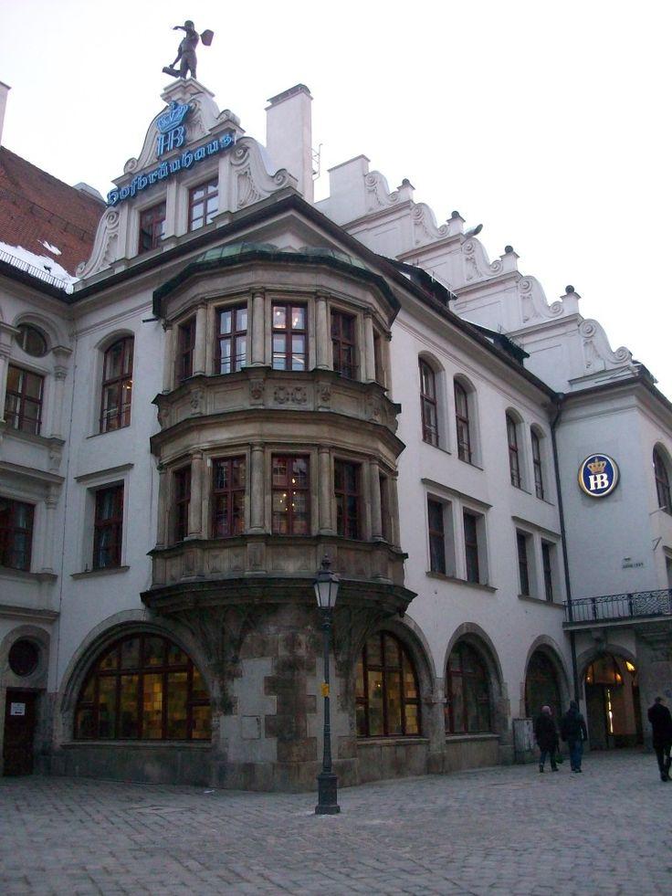 Hofbrauhaus, la cervecería más famosa de Baviera, Munich, Alemania