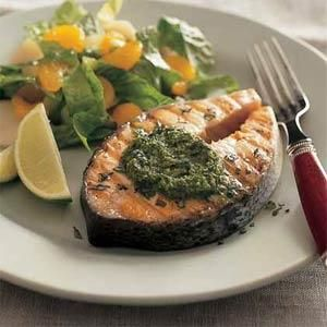 Grilled salmon steak recipes easy