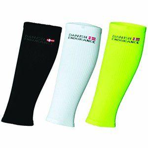 DANISH ENDURANCE® Manchons de Compression // Calf Sleeves // Pour la course a pied, le cyclisme, le triathlon, le fitness, salle de sport…