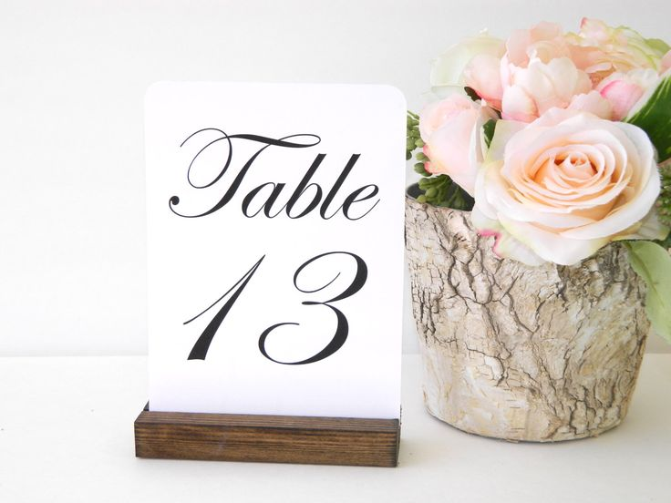 Table Number Holder + Rustic Wedding + Rustic Wood Table Number Holders (5inch) Set of 10 by Gallery360 on Etsy https://www.etsy.com/listing/241986103/table-number-holder-rustic-wedding