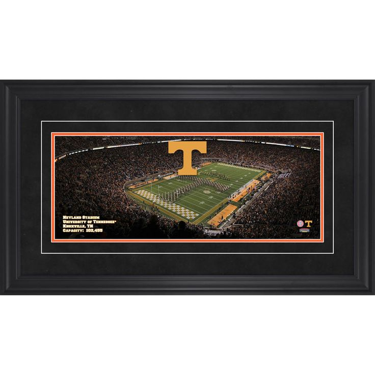 "Tennessee Volunteers Fanatics Authentic Framed 17"" x 31"" Neyland Stadium Gameday Panoramic Photograph"