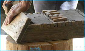PasjaBelki: skrzynka na listy, drewniana :)