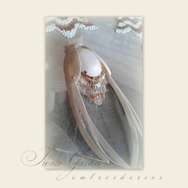 Будут серьги. Скоро!♡ #comingsoon #earrings #handembroidered #beaded #swarovski #sequins