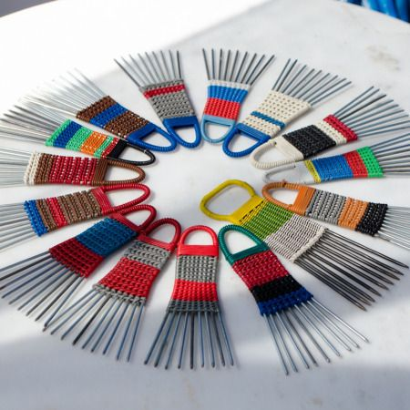 African Hair comb – metal and plastic combs #vintage