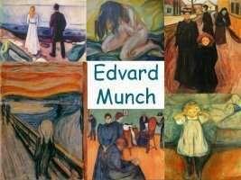 Leuke en informatieve powerpoint over Edvard Munch voor 5, deze en nog vele andere kun je downloaden op de website van Juf Milou.