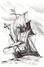 Картинки по запросу парусник рисунок