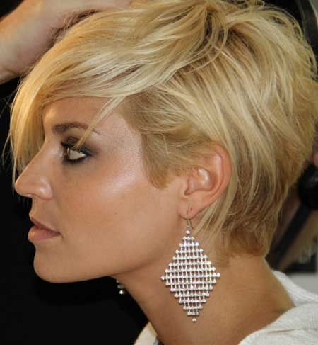 Super Short Blonde Haircuts Short Blonde Pixie Blonde