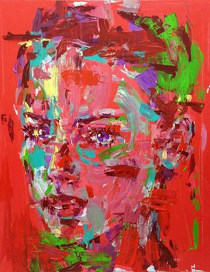 "Saatchi Art Artist Jeong Ah Lim; Painting, ""an ordinary person-m"" person, portrait, Pop art, figure painting #art"