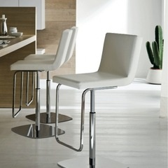 cream slim bar stools