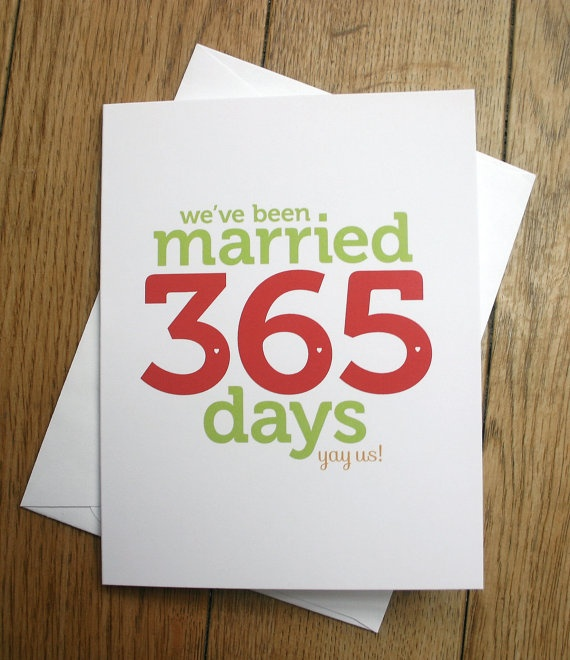 did you know that paper is the traditional gift for your first wedding anniversary?
