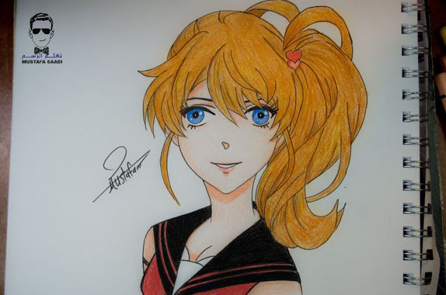 تعلم رسم انمي بالصور خطوة بخطوة Drawings Anime Art