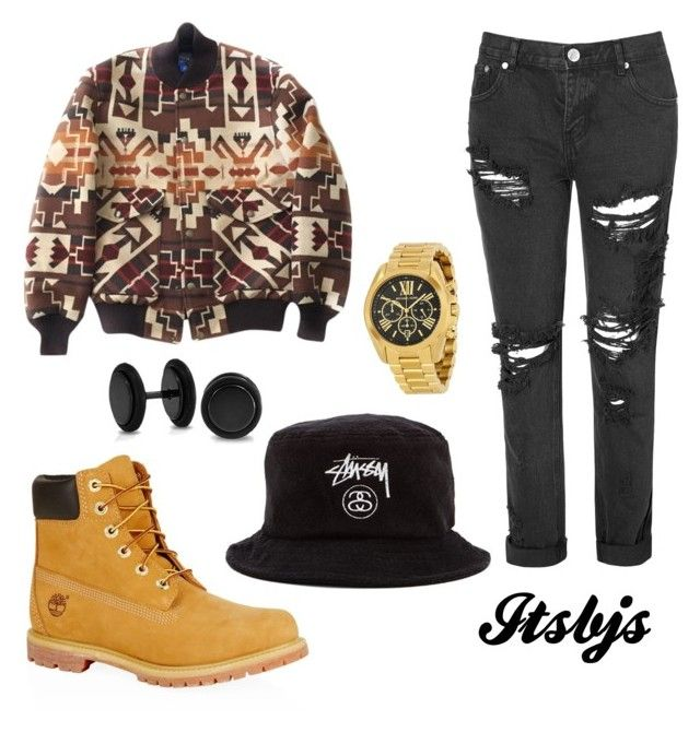 """""""Timberland/dope/stussy"""" by itsbjs on Polyvore"""