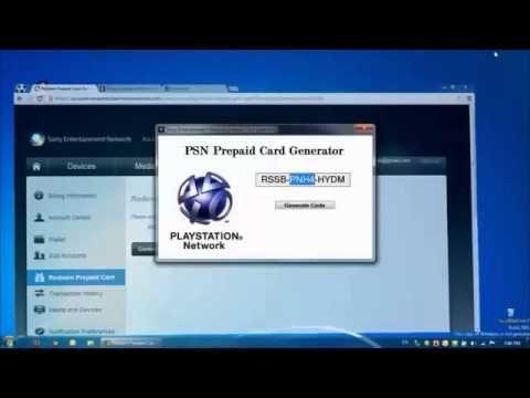 Générateur de Code PSN Gratuit - Version Nouveau! [Septembre 2013]