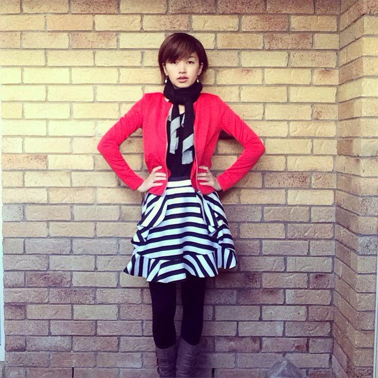 Today's look  | jacket @hm | skirt @princesspollyboutique | scarf #trentnathan | #corporatestyle #corporatefashion #corporatechic #workwear #ootd #whatiwore #lookoftheday #everydaystyle #styleinspo #princesspolly #instafashion #instastyle #fashionphotography #workstyle #officestyle #corporatewear #asianfashionmodel #workfashion #fashiongram #stylegram #fashioninspo #时装 #おしゃれ  #australianfashionblogger #australianfashionlabels #fashionandfeline #statementskirt #springlook #springstyle