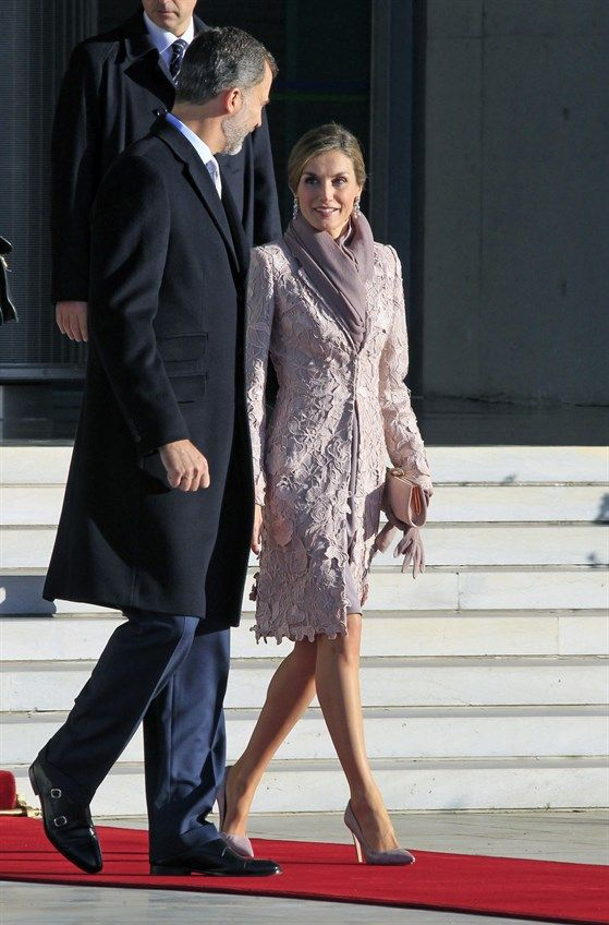 King Felipe and Queen Letizia on their 1st day of State Visit to Portugal | 28.11.2016 - click to read more