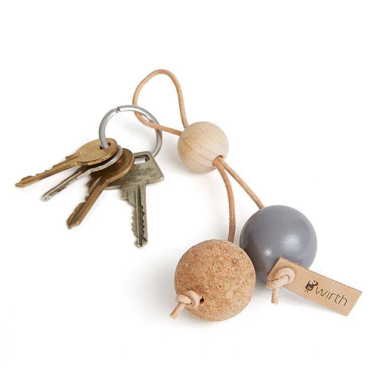 norsu interiors - By Wirth Key Sphere Key Ring, Grey, $29.00 (http://www.norsu.com.au/by-wirth-key-sphere-key-ring-grey/)