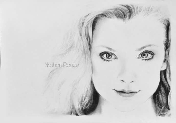 A minimalistic portrait of Natalie Dormer, one of my favourite actresses. :) Her beautiful eyes and the lovely smile makes her face so special and interesting that I needed to put it on the paper. I was really enjoying drawing this portrait.   Get the original drawing or print on Etsy: https://www.etsy.com/listing/551020123/original-fine-art-drawing-natalie-dormer?ref=shop_home_active_2