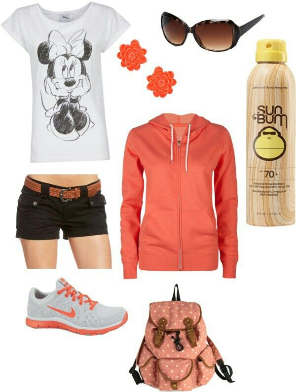 I would definitely go to Disney World, with this Outfit ;)