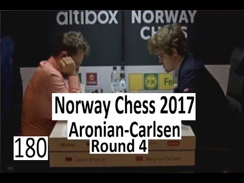 Norway Chess 2017 - Round 4 with Aronian-Carlsen - http://chesshq.net/norway-chess-2017-round-4-with-aronian-carlsen/