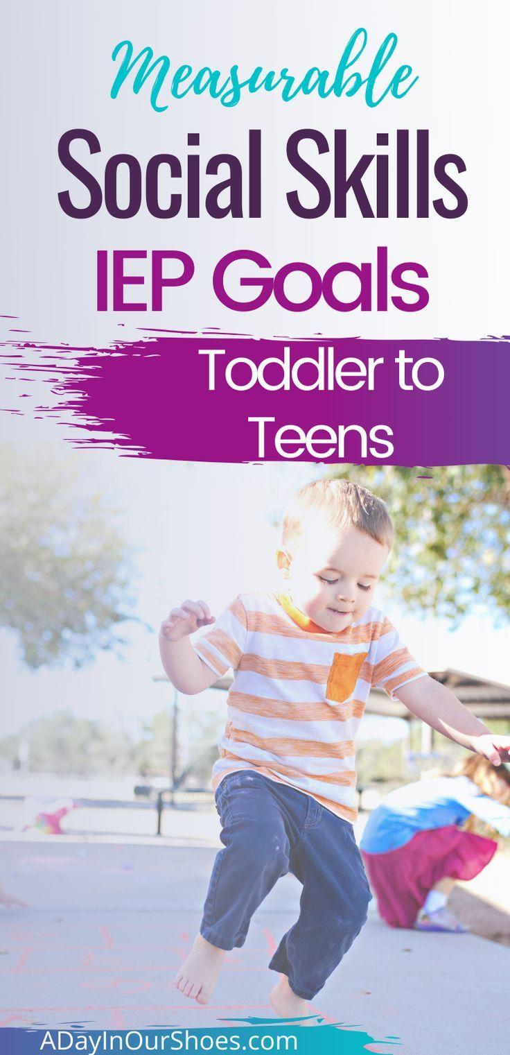 48 Social Goals For An Iep Social Skills Social Emotional Sel Teens Iep Goals Social Skills Groups Social Skills