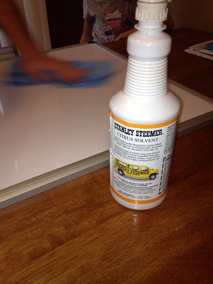 How to get permanent marker off a dry erase board:  find a solvent at your local store or through a local carpet cleaner that is used to remove spots on carpets (usually they are only sold for industrial use so a local restaurant or company may let you borrow some). Spray the solvent on the board and use some serious elbow grease! Comes right off !