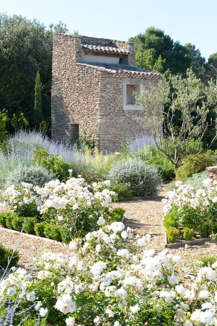 Lay of the Landscape: 12 Elements of Provence Garden Style - Mediterranean Landscape by Thomas Gentilini