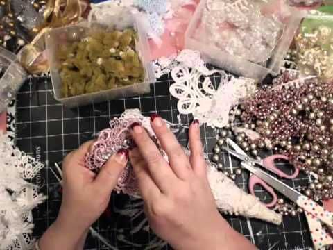 ▶ Shabby Chic tussie Mussie - YouTube
